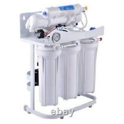 RO Reverse Osmosis Water Filter System 500 GPD Booster Pump RO Tank 20 Gallon