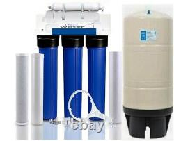 RO Reverse Osmosis Water Filtration System 200 GPD Booster Pump