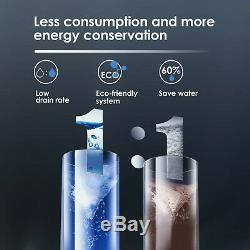 RO Reverse Osmosis Water Filtration System, Tankless, 400 GPD White by Waterdrop