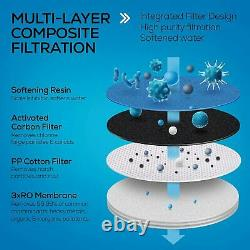 RO Reverse Osmosis Water Filtration System Under Sink Tankless Purifier 600 GPD