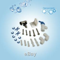 RO Water System Equipment Reverse Osmosis Filtration+5 Stage Filter 75GPD TDS