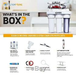 Replacement 6 Stage Reverse Osmosis Home Drinking Water Filter System