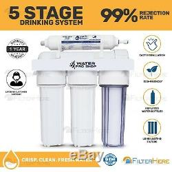 Replacement/Portable 5 Stage Reverse Osmosis Home Drinking Water Filter System