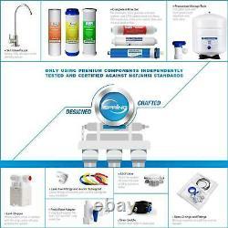 Reverse Drinking Water shower Filtration System 6 Stage Alkaline Under Sink