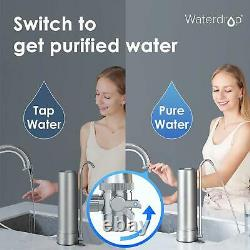 Reverse Osmosis 5 Stage Water Countertop Filtration System Long-Lasting Filters