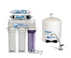 Reverse Osmosis Aquarium/Drinking Water Filter System RO/DI Dual Outlet 100 GPD
