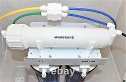 Reverse Osmosis Deionization Water Filter 3 stage Compact Aquarium 25 GPD System