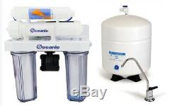 Reverse Osmosis Drinking Water Filter System Permeate Pump DUAL DI/DRINKING & UV