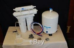 Reverse Osmosis Drinking Water Filtration System 4 Stage 150 GPD Home RO