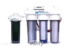 Reverse Osmosis RODI Reef Aquarium Water Filtration System 75 GPD 5 Stage RO DI
