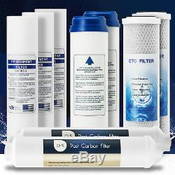 Reverse Osmosis RO Water Filter Element Replacement Set for 5 Stage System Home
