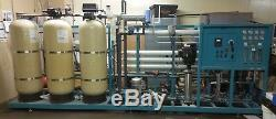 Reverse Osmosis System 14,400 GPD complete with pre-treatment system