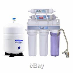 Reverse Osmosis Water System Alkaline Filter 6 Stage 50 Gpd-made In USA