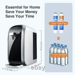 SimPure Y7 UV Countertop Water Filter Reverse Osmosis System Dispenser Purifier