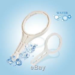 Sim-Pure Reverse Osmosis System Water Filter 75GPD NO-Pump Hand Instal Setup