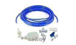 Tube Float 1/4 Inch Valve Kit Water Filter Reverse Osmosis System Faucet Connect