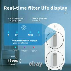WaterdropTankless Reverse Osmosis Water Filtration System, 600 GPD, Smart Panel