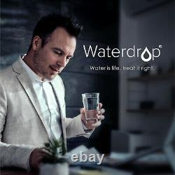Waterdrop WD-D6-B Reverse Osmosis Water Filter System, USA Tech Support