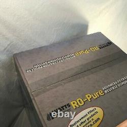Watts Premier RO-PURE Reverse Osmosis System Tank, Module & 4 Filters WP-R04 NIB