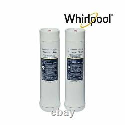 Whirlpool Reverse Osmosis Filtration System Chrome Faucet Cartridges White New