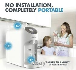 Y5Countertop RO Water Filter Instant Hot Reverse Osmosis System 4Stage Dispenser
