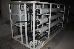Zenon Reverse Osmosis (RO) System 11.9 GPM Unused Surplus