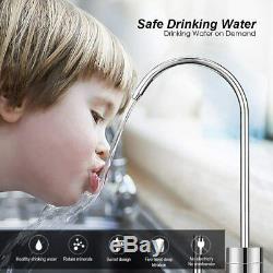 100gpd 5 Étape Sous L'évier D'osmose Inverse Accueil Système De Filtration D'eau Potable