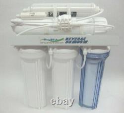 10 50-200 Gpd Reverse Osmosis Ro Système De Filtre À Eau Potable