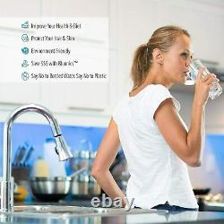 15 Pcs Filtre D'eau De Remplacement Set Pour Notre Système D'osmose Inverse Uv 6 Étapes