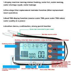 1600 Gpd Direct Flow Osmose Inverse Pumped Contrôleur LCD Système, Affleurant Automatique