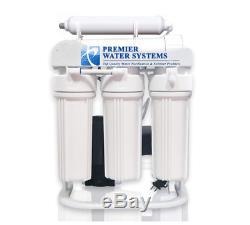 200 Gpd Lumière Commerciale Système D'osmose Inverse De Filtration D'eau + Surpresseur
