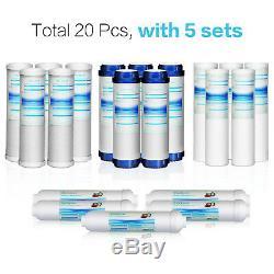 20 Packs Universal Compatible Système D'osmose Inverse Filtres De Remplacement
