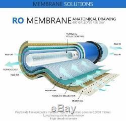 2 X 400gpd Osmose Inverse Ro Membrane Filtre À Eau Remplacer 5/6 Système Étape