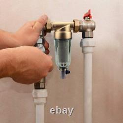 2-stage Big Blue 10 Système De La Maison Entière, Carbone, Chaîne, Filtre De Pré-eau De Sédiments