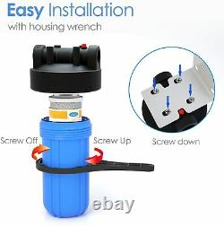 3 Étape 10 -inch Big Blue Water Filters For Whole House Water Softener System