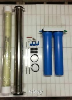 3 Étape 4040 Système D'osmose Inverse, Pam, Nettoyage Des Fenêtres Ultra Basse Pression