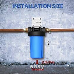 3 Étapes Big Blue 10 Whoe House System 1 Port Avec Blocs De Carbone / Filtres De Sédiments