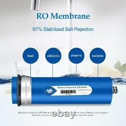 3 Pack 400gpd Ro Membrane Système D'osmose Inverse Filtres De Purification De L'eau Potable