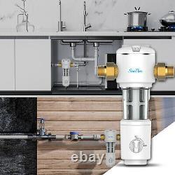 3-stage Big Blue 10 Système De La Maison Entière, Carbone, Sédiments, Filtre D'eau De Spin Down