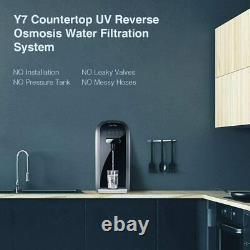 3-stage Simpure Y7 Distributeur De Filtre D'eau De Comptoir Uv Système D'osmose Inverse