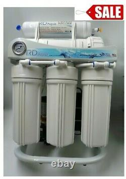 400 Gpd Reverse Osmosis Water Filter System Avec Support Robuste & Booster Pump