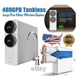 400g Grand Débit 3 Étape Ro Inverse Système D'osmose Eau Potable Filtre Purificateur