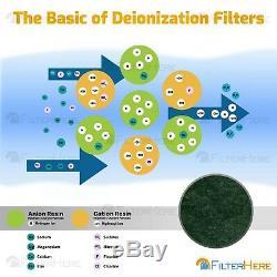 4 Etape Valeur Osmose Inverse / Désionisation (ro / Di) Système De Filtration 50 Gpd
