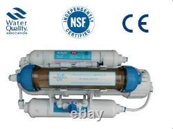 4 Stade Ro & DI Reverse Osmosis Filter Tropical Marine Fish 50 100 150 Gpd