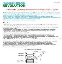 4-étape Alcaline Comptoir Par Osmose Inverse Ro Système De Purification D'eau, 100 Gpd