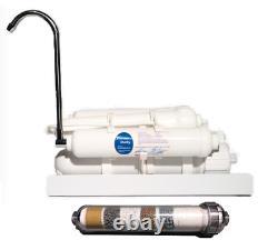 50 Gpd Portable Countertop Reverse Osmosis Alkaline Système De Filtre À Eau Potable