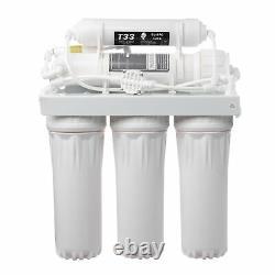 50gpd Water Fiter Système D'osmose Inversée 5 Étages Suppression Des Solides 12.11l