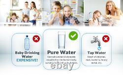 5 Étape Osmose Inverse Système De Filtre D'eau Potable 100gpd Ro House Purifier