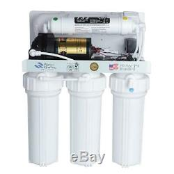 5 Étape Pléniers Filtre D'eau Potable Système Uv Osmose Inverse Undersink
