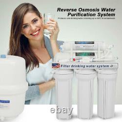 5 Étape Système D'osmose Inverse Système De Filtration D'eau Potable Ro Eau
